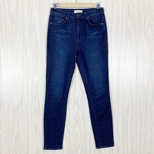 Harper   Dark Wash High Rise Skinny Jeans Size 28